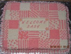 Baby 'Quilt' cake.