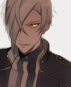 Watch anime online in English. Touken Ranbu, Manga Boy, Anime Manga, Anime Art, Character Concept, Character Design, Mutsunokami Yoshiyuki, Hot Anime Guys, Anime Boys