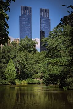Time Warner Towers from Central Park