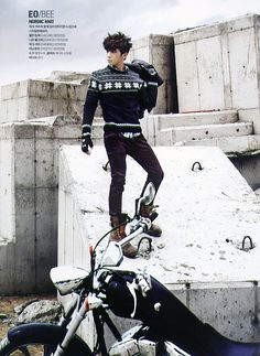 2PM Woo Young - Cosmopolitan Magazine November Issue '11