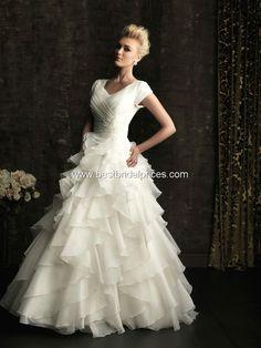 Allure Modest Wedding Dresses - Style M483