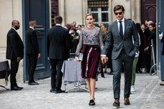 OP & JH - Street style at Paris Fashion Week Spring/Summer 2017 | Vogue Paris
