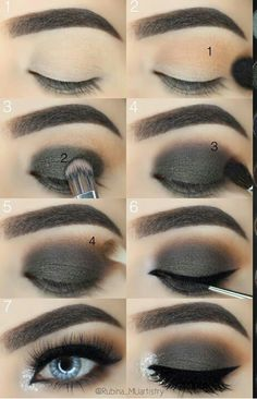 often change eye makeup eye makeup remover eye makeup tips for eye makeup makeup map makeup remover pads makeup over 50 makeup cut crease Makeup Kit, Makeup Tools, Beauty Makeup, Hair Makeup, Makeup Guide, Makeup Artists, Makeup Geek, Make Up Tutorial Contouring, Makeup Tutorial For Beginners