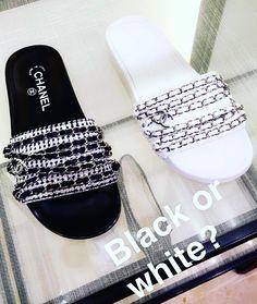 #VeronicaFerraro Veronica Ferraro: fell in love w/ these shoes! More on snapchat @VeronicaFerraro #Chanel