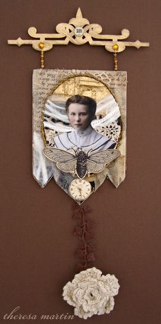Time     by theresa mARTin     Theresa's Beautiful Work   for Paper Whimsy Inspire  ~*<3<3<3*~