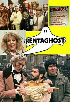 Rentaghost with Mr Davenport, Mr Mumford, and Mr Claypole. Also Miss Popov, who found later fame as Audrey in Coronation Street. Couldn't ever take her seriously in Corry as I kept expecting her to pop off. 1980s Childhood, My Childhood Memories, Kids Tv Shows, Vintage Tv, Vintage Kids, Old Tv, Classic Tv, My Memory, Just In Case