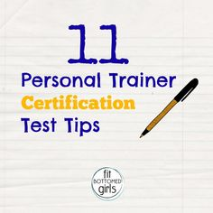 Thinking about becoming a certified personal trainer? Erin's sharing her top tips for acing the ACE exam!