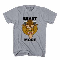 Beauty And The Beast Disney Beast Mode Man's T-Shirt