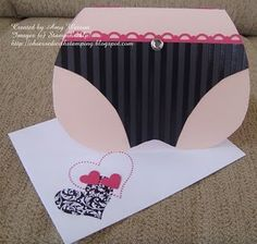 Bra and Panty Card