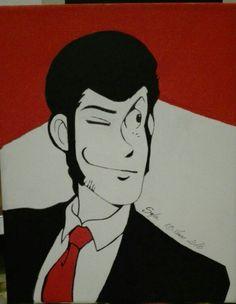 Quadro pop art Lupin the third