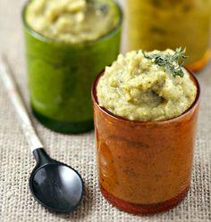 Photo de la recette : Purée de brocolis aux pois cassés