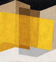Josef Albers Angular, 1935 oil on composition board 16 × in. Josef Albers, Anni Albers, Print Artist, Artist Art, Abstract Pattern, Abstract Art, Bauhaus Textiles, Design Blog, Textile Artists