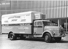 """Volvo 485 koelwagen. Hoogsteder """"HOCU"""""""