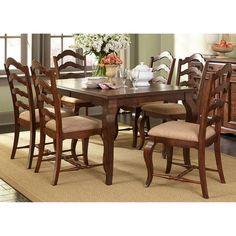 Liberty Furniture Savanna 7-piece Rectangular Dining Table Set - 606-CD-7RLS