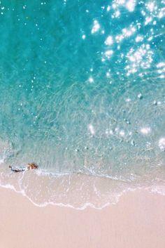L'eau turquoise, beach, plage, blue, sea, travel, holidays, dream, dream beach