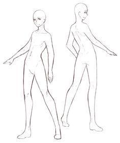 Full Body Drawing Base Google Search Drawing Base Body Drawing Drawing Poses