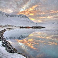 ✮ Small village in region of Westfjords in Iceland