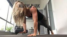 Moving plank Plank, Exercises, Bulletin Boards, Exercise, Training Exercises
