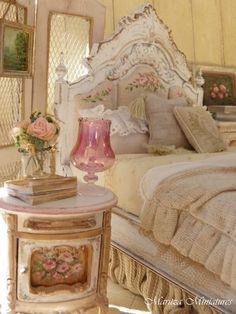 Shabby Chic Bedroom by Ирина Дубровская