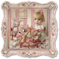 New Art - Conceptual Realism - Mark Ryden Mark Ryden, Arte Lowbrow, Pop Art, Hi Fructose, Tim Walker, Arte Horror, Creepy Cute, Art Abstrait, Surreal Art