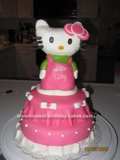 Coolest Hello Kitty Cakes Hello kitty cake Kitty cake and Hello kitty