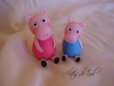 Pepa pig y su hermanito