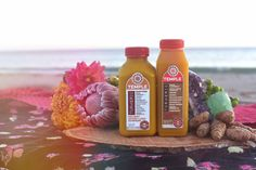 We are so honored to unveil Pure Fire Cider Super Tonic and Holiday Spiced Lassi Culture Blend, two new seasonal offerings inspired by ancient recipes and powered by our proprietary Hawaiian Oana Turmeric. Each recipe is designed to help support positive inflammation response and balance the body's digestive system with vegan probiotics.