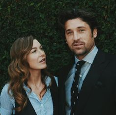 Derek Shepherd, Perfect Couple, Best Couple, Dr Mcdreamy, Grey's Anatomy Wallpaper, Meredith And Derek, Owen Hunt, Cristina Yang, Patrick Dempsey