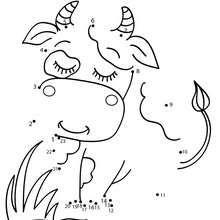 Vache souriante