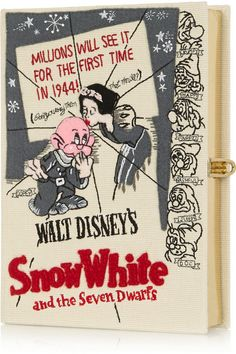 Olympia Le-Tan | Disney Snow White Embroidered Clutch