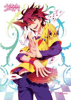 No Game No Life - Sora (Genderbend) // Cards as props!