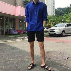 Korean Fashion Men, Korean Street Fashion, Ulzzang Fashion, Asian Fashion, Boy Fashion, Mens Fashion, Fashion Outfits, Japanese Men, Fashion Poses