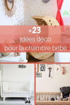 23 idées déco pour la chambre bébé  http://www.homelisty.com/23-idees-deco-pour-la-chambre-bebe/
