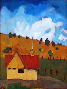 """Cotopaxi Church,"" an acrylic by Jim Keffer. Photo provided Photo provided"