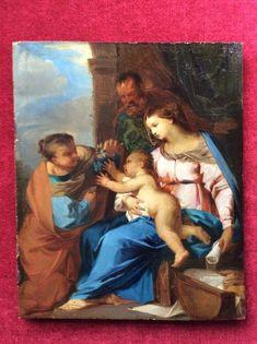 Francesco Mancini: Sacra Famiglia High Renaissance, Artists Like, Art Gallery, Italy, Painting, Art Museum, Italia, Painting Art, Paintings