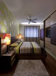 How to decorate a long bedroom.