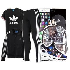 Adidas. by beautifulme078 on Polyvore featuring adidas Originals, adidas and Urbanears