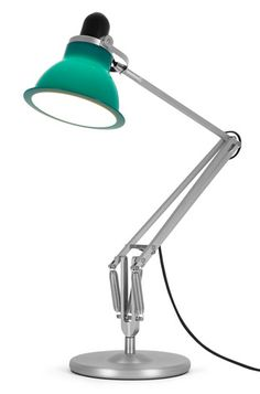 Their Type desk lamp will introduce a vibrant pop of color into any interior space. Its attractive, flexible shade can be rotated to create a highly efficient work light, or tilted away to dispe Italian Lighting, Modern Lighting, Green Interior Design, Anglepoise, Task Lamps, Work Lights, Decorative Accessories, Modern Furniture, Furniture Design