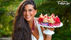 Raw Vegan Strawberry Shortcake Cupcakes! Celebrating 11 years of eating FullyRaw and making these healthy colorful cupcakes to share with you! Get your ticke...