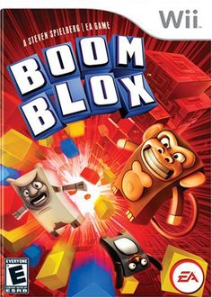 Fun for kids and the entire family, BOOM BLOX offers action-packed interactive activities that takes Wii play to a new level of creativity and fun with single player, co-op, and versus gameplay Carnival Games Wii, Game Boom, Ea Games, Common Sense Media, Video Game Collection, Steven Spielberg, Electronic Art, Party Games, Nintendo Wii