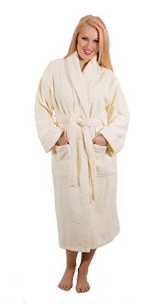 We made a robe in the world's softest plush in a beautiful