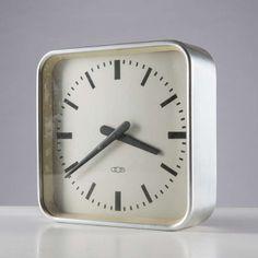 Gio Ponti; Table/Wall Clock for Boselli, 1936.