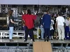 Michael Jackson - HIStory World Tour Rehearsal Footage [Unknow Locality And Date] - YouTube