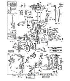 CARBURETOR Repair on Older BRIGGS & STRATTON 3.5HP Engine Part 2 ...