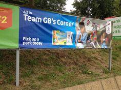 Muller Olympics getting prominence in Asda car park. Team Gb, Asda, Pos, Car Parking, Olympics