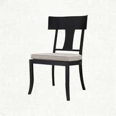 Palisade Outdoor Dining Side Chair with Cushion in Daylight Pewter