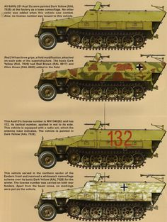 Axis Tanks and Combat Vehicles of World War II: Half-Track
