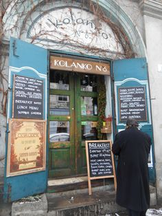 https://flic.kr/p/RfJTiU | Cafe in Kazimierz