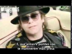 Elton John - Nikita (music video) Legendado