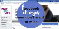 3 αλλαγές του facebook που πρέπει να εκμεταλλευτείς πριν μπει το 2018 #blogmas day 20 http://ift.tt/2ASlR7f  #edityourlifemag